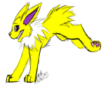 (Contest Prize) Jolteon Sketch by rebeccathejolteon