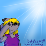 But The Bright Sun Is Burning by hawkfurze