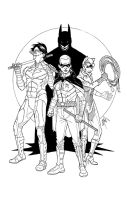 Team Arkham City by peetietang