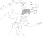 Zuko doing the Dancing Dragon by abcccj