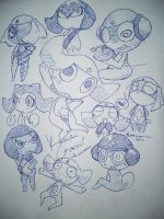 Keroro and Garuru Platoons by BlueBird236