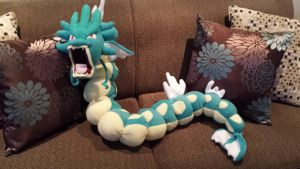 Gyarados plush by m-sharlotte