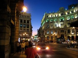 Madrid by night - Madrid nocturna by REI-BCN