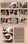 Cheesecake Chocolate Cups Tutorial by claremanson