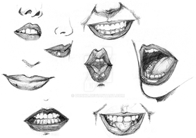 study mouth by DunkZ