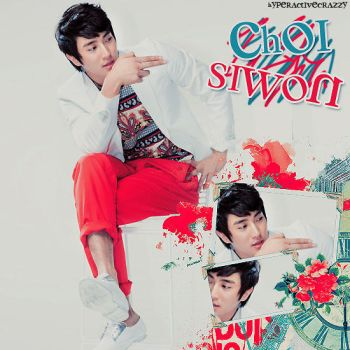 Choi siwon by hyperactivecrazzy