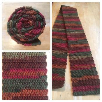 Autumn Scarf by A-Passionate-Flame