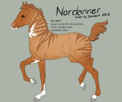 Nordanner foal 2055 for AJRyan22 by Ikiuni