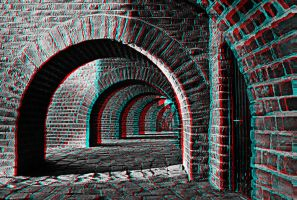 Vaulted Cellar 3-D conversion by MVRamsey