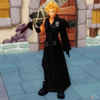 Cloud KH2 [XPS] by LexaKiness