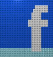 Facebook Legomosaic by gpsc
