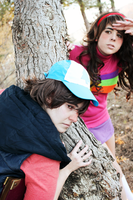Gravity Falls Cosplay - Mystery Twins by MystralCasterial