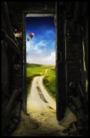 The Road Ahead is Brighter by NeverenderDesign