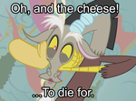 Pony Meme: Discord as Sheogorath by shadesmaclean