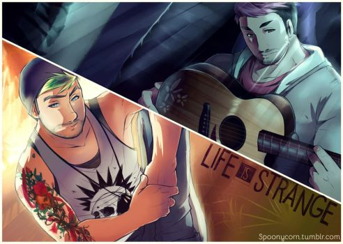 Mark and Jack | Life Is Strange by Spoonycorn
