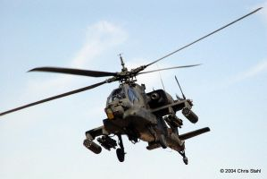 AH-64 Apache by chris-stahl