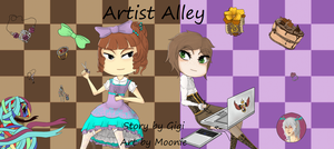 Artist Alley Cover by MooniesLove