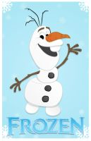 Frozen's Olaf by momarkey