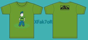 T-Shirt by XFak7oR