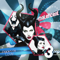 PNG Pack (1) Maleficent by Axopholice