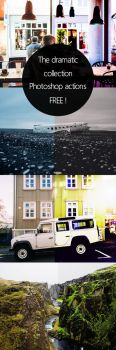 The dramatic collection Photoshop actions by Saptarshi-Nath