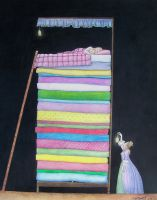 Princess and the pea by mebeme14