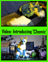 VIDEO: Introducing Chemic the Raverhound by CuriousCreatures