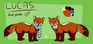 Lucas Ref sheet by PawesomeSauce