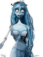 corpse bride by gilly15