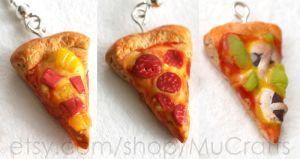 new pizza miniatures by BadgersBakery