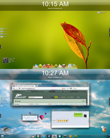 W7 Desktop 24.11.09 by z3ek147