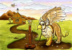 Griffin Farm: Coloring Contest by S-A--K-I