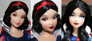 Disney DS Snow White |Repaint History by claude-on-the-road