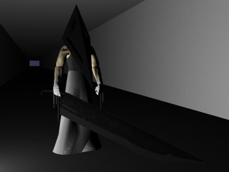 Pyramid Head 3D by ccccantide