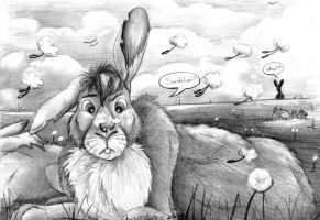 Spring on Watership Down by Shadyufo