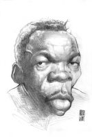 John Lee Hooker by Parpa