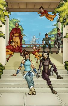 Legend of Korra by JoelBartlett