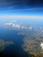 Above Denmark by Becwa