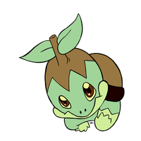 Turtwig for Group Collab by MeoWmatsu
