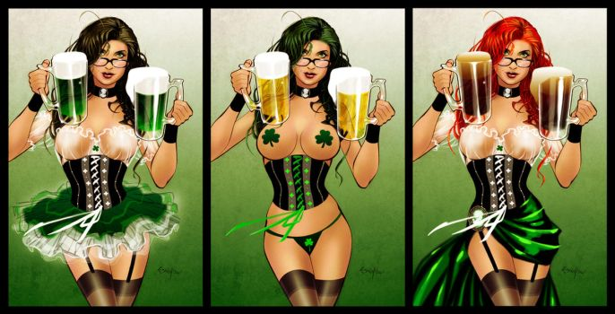 St Paddy's Girl by Franchesco