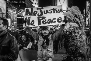 No Justice, No Peace by BautistaNY