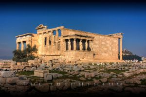 The Erechtheum by Linkineos