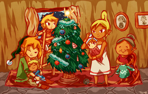 Legend of Zelda: A Family Christmas by tellie-tale