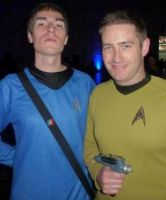 Spock and Kirk by Ezri-Krios