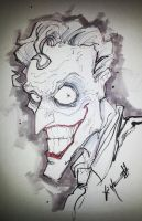 Creepy Joker by ChrisOzFulton
