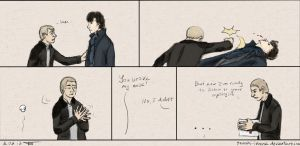Warm Welcome from John Watson by Tenshi-Inverse