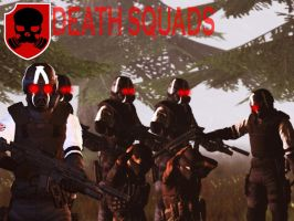 (NHE) Helghast Units:Death Squads by quinoproductions