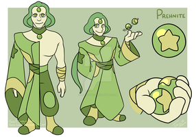 Gemsona: Prehnite by forte-girl7