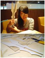 Saruman Staff in Process by Norloth