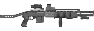 SPAS-12 All Attachments by GrimReaper64